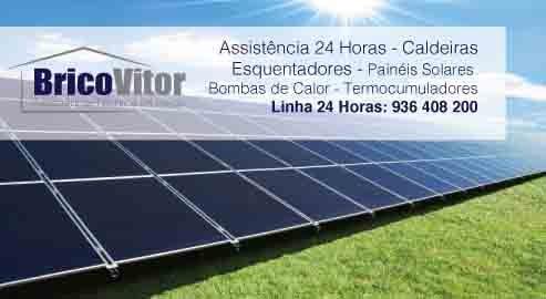 Reparação painéis Solares