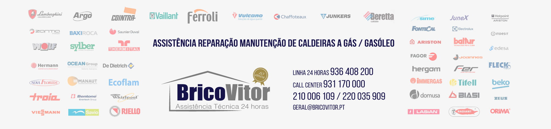 Empresa de Assistência Caldeiras Prozelo, Arcos de Valdevez 24H