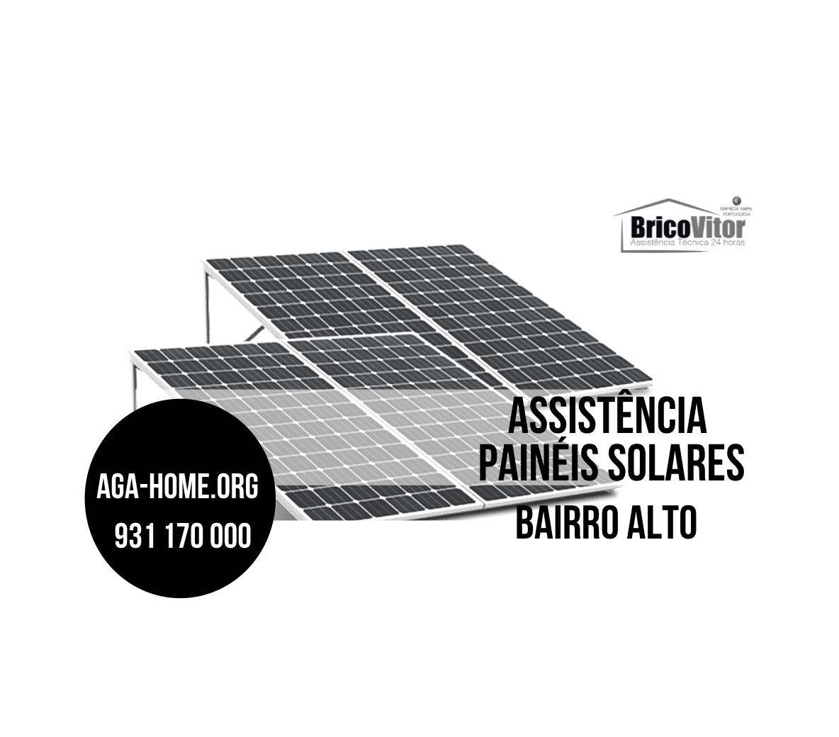 Assistência Painéis Solares Bairro Alto