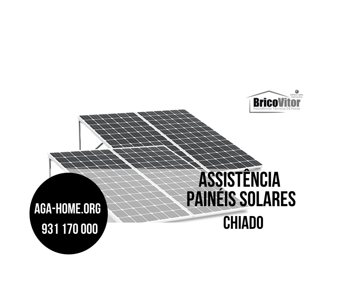 Assistência Painéis Solares Chiado