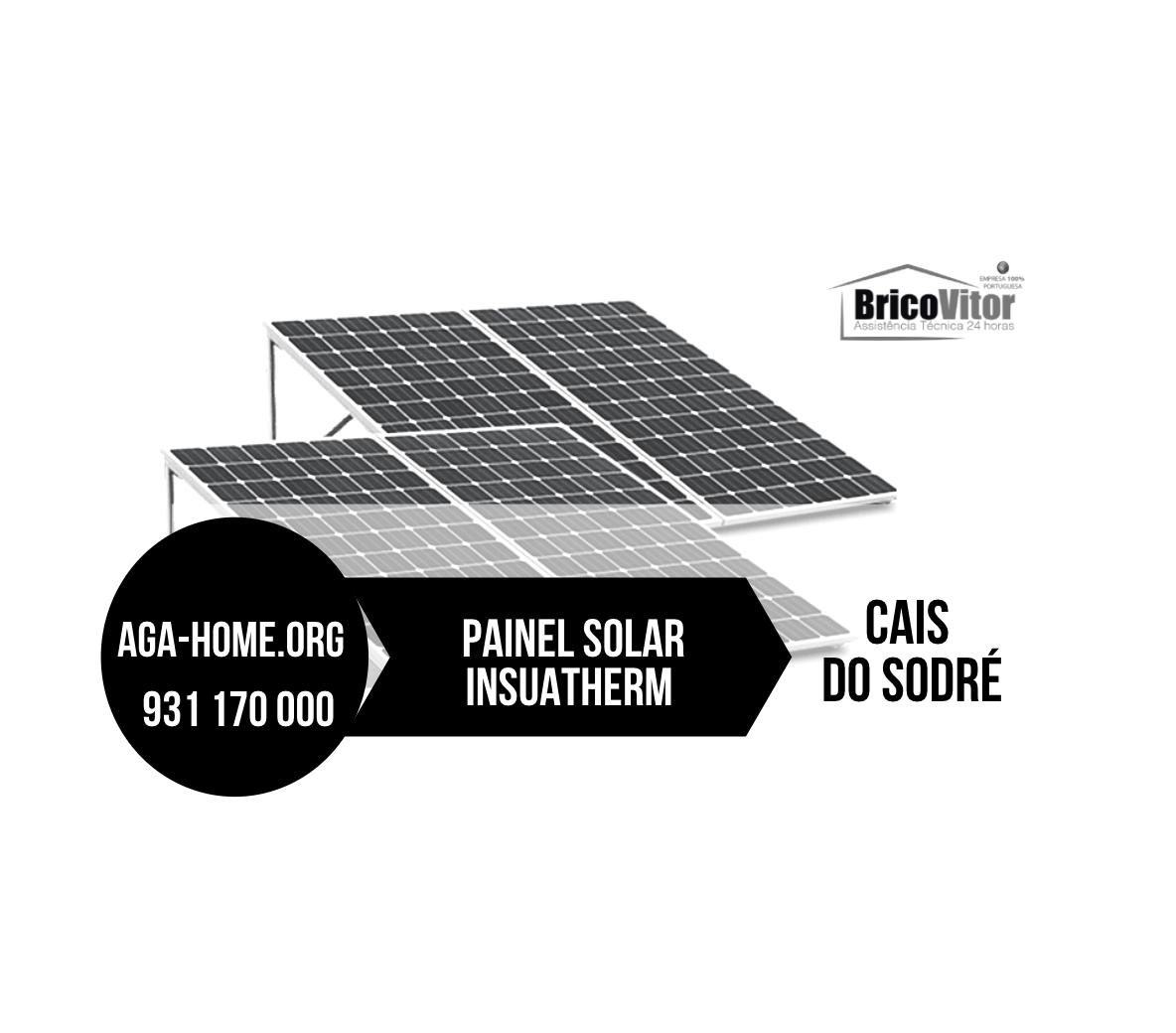 Assistência Painéis Solares Insuatherm Cais do Sodré