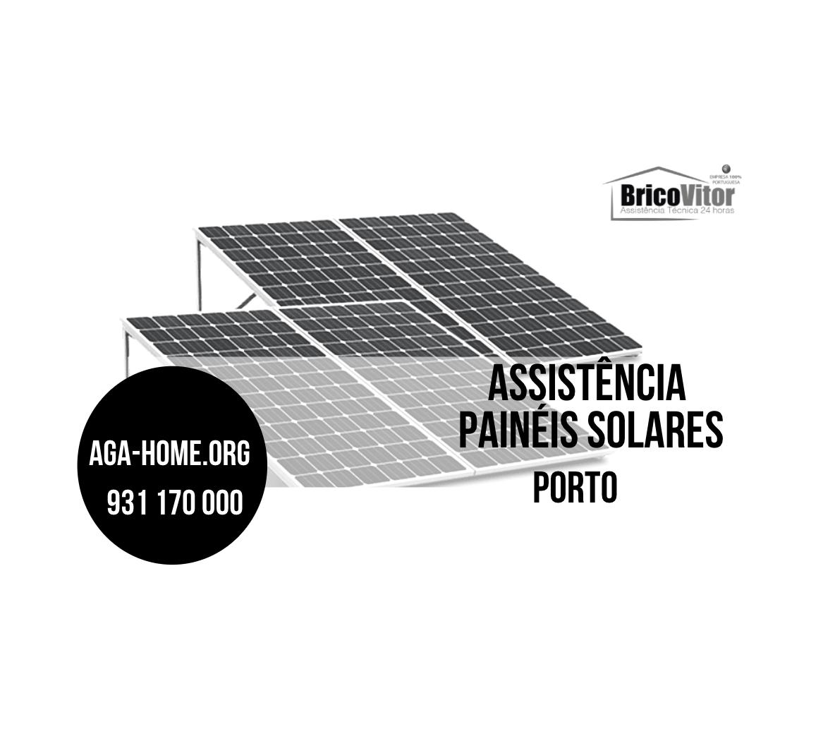 Assistência Painéis Solares Porto