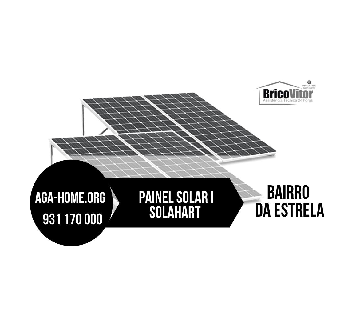 Assistência Painéis Solares Solahart Bairro da Estrela